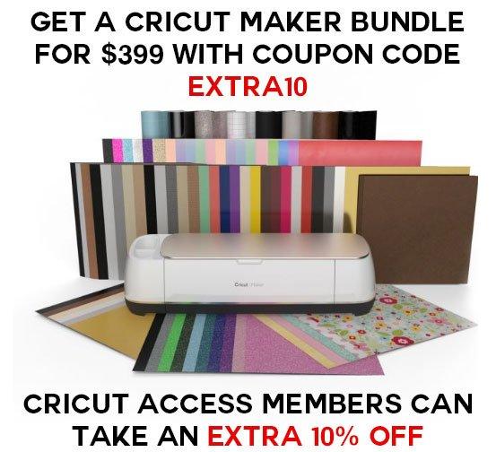 Cricut Maker Everything Bundle Deal