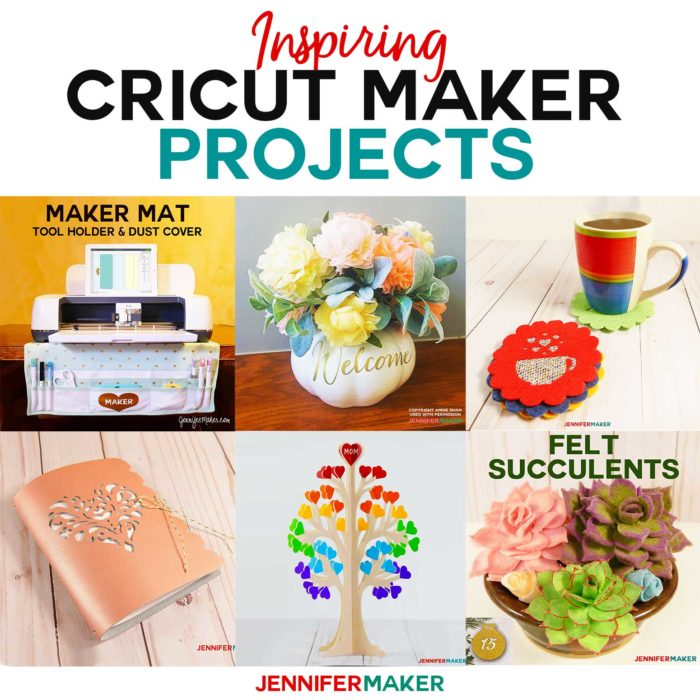 Inspiring Cricut Maker Projects that are easier than you think to make!