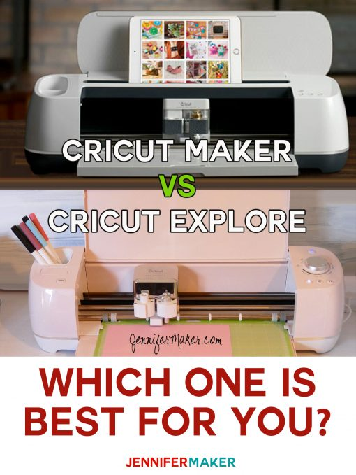 Cricut Maker vs Cricut Explore: Which One is Best | Cutting Machine Comparisons and Features | Which Cricut Should I Get?