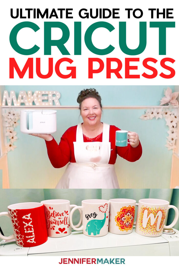 Cricut Mug Press Ultimate Guide to Infusible Ink Mugs #cricut #mugs #infusible ink