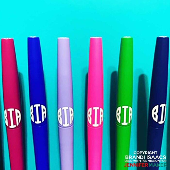 Brandi Issac's pens