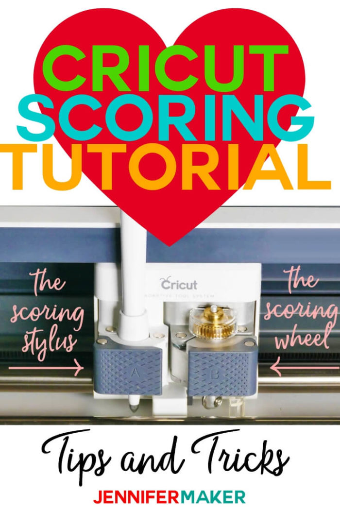 Learn how to use the Cricut Scoring Stylus and the Cricut Scoring Wheel in this tutorial. I share my best tips and tricks to help you score your projects. #cricut #cricutmade #cricutmaker #cricutexplore #papercrafts #papercrafting