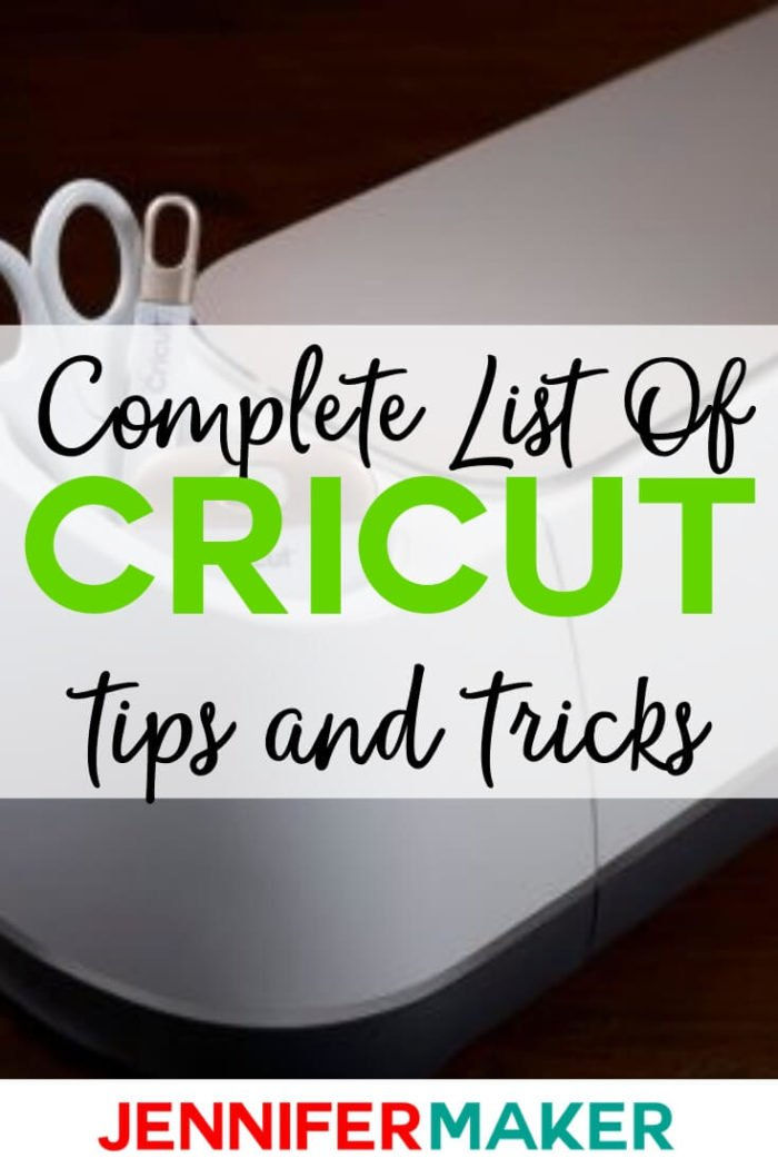 These Cricut tips and tricks will help you get the most out of your Cricut machine so you can do more of what you love. With a list of over 40 tips you'll have plenty of tricks to try! #cricut #cricutprojects #cricutmaker #cricutexplore