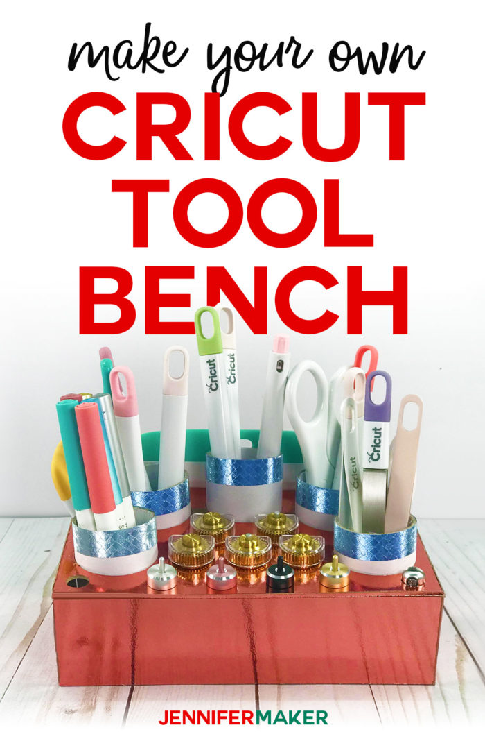 Cricut Tool Holder& Organizer: The Tool Bench #cricutmade #organize #craftroom #cricutmaker