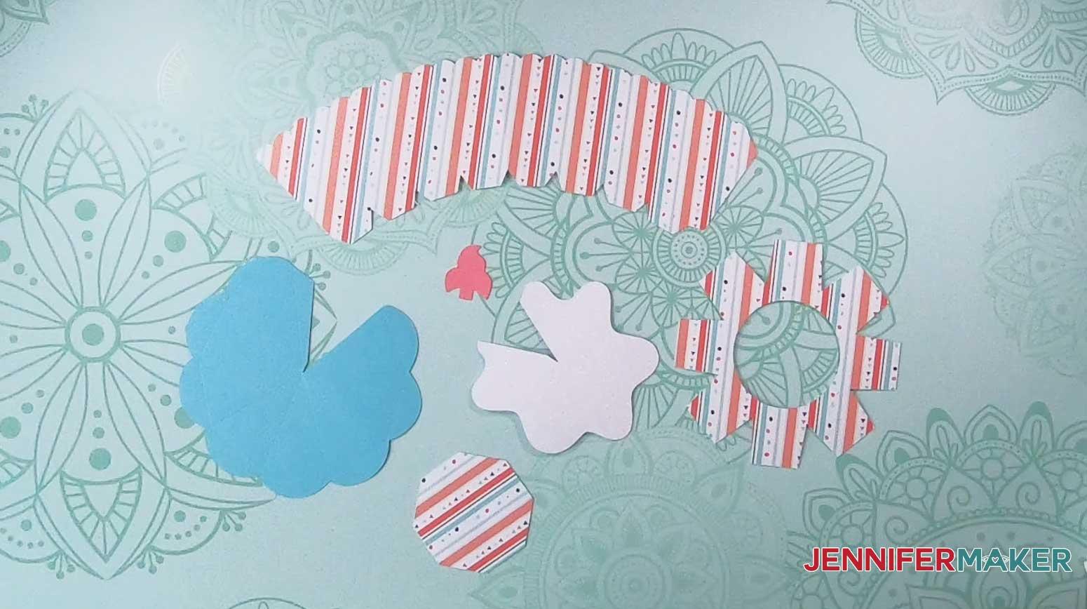 jennifermaker cupcake box cut materials