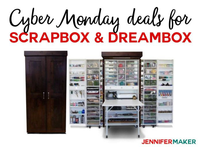 Cyber Monday Deals for Crafts: The Original ScrapBox WorkBox DreamBox on Sale!