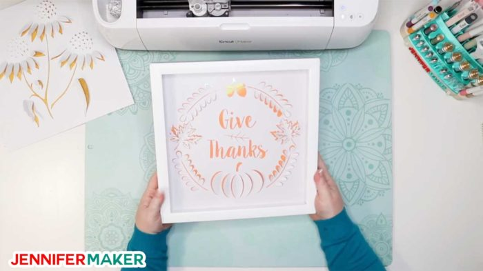 Framing your dimensional paper art in a shadowbox