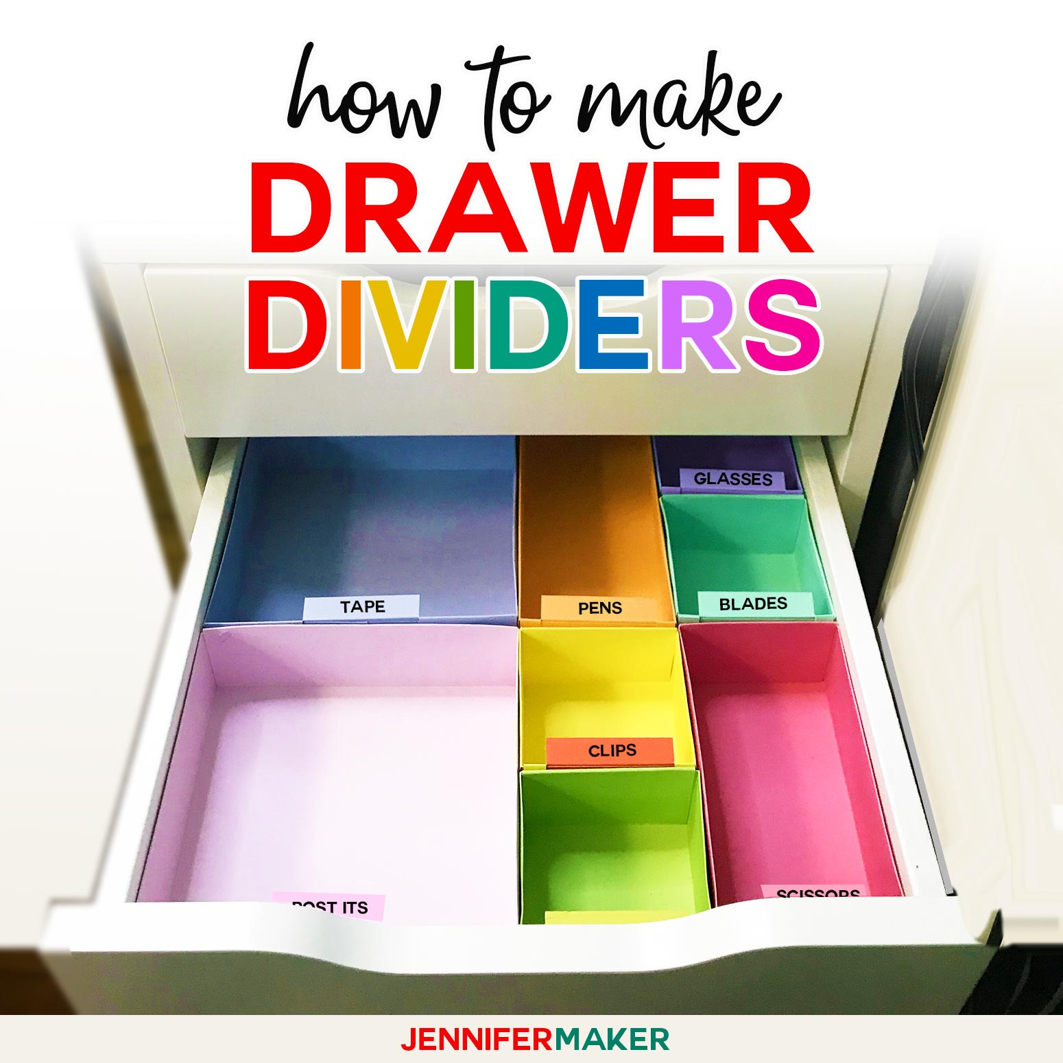 DIY Drawer Dividers: How to Organize Your Drawers