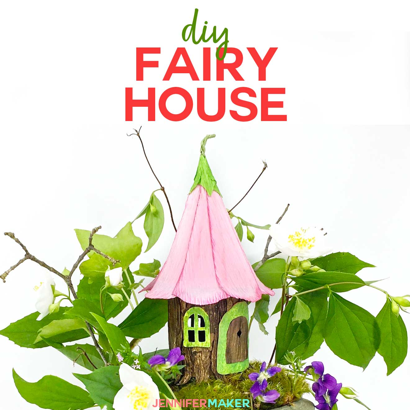 Download template, print and fold into small paper houses which ... | 1321x1321