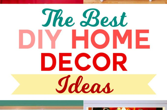 DIY Home Decor Project Ideas | My Favorite Tutorials and Patterns | #diy #homedecor #trashtotreasure
