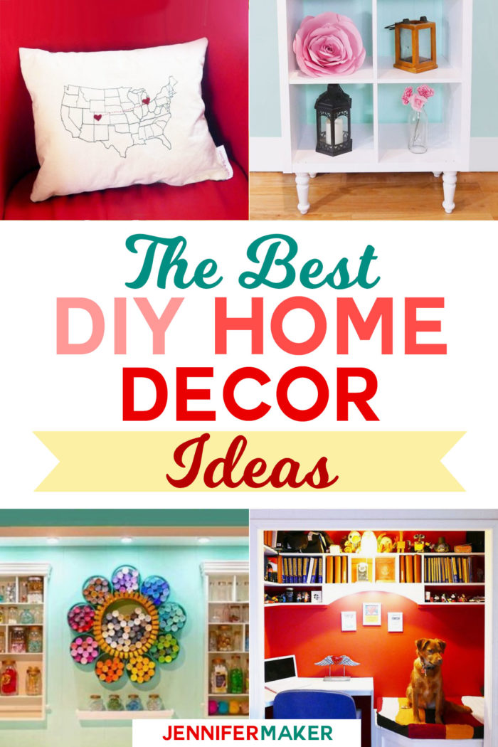 DIY Home Decor Project Ideas | My Favorite Tutorials and Patterns | #diy #homedecor #trashtotreasure