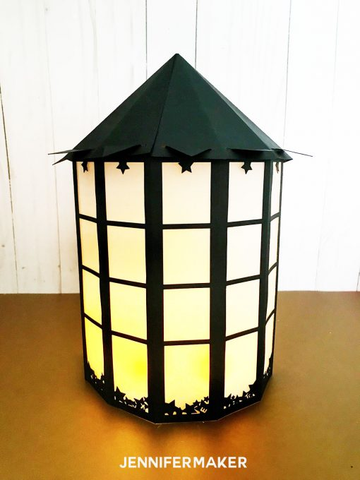 DIY Paper Luminaries: The Basic Starlight Lantern