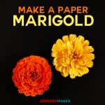 DIY Paper Marigold | Day of the Dead | Dia de los Muertos | Autumn and Fall Flowers | Papercraft Tutorial | SVG Files