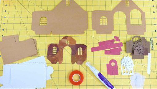 DIY Paper Village Materials