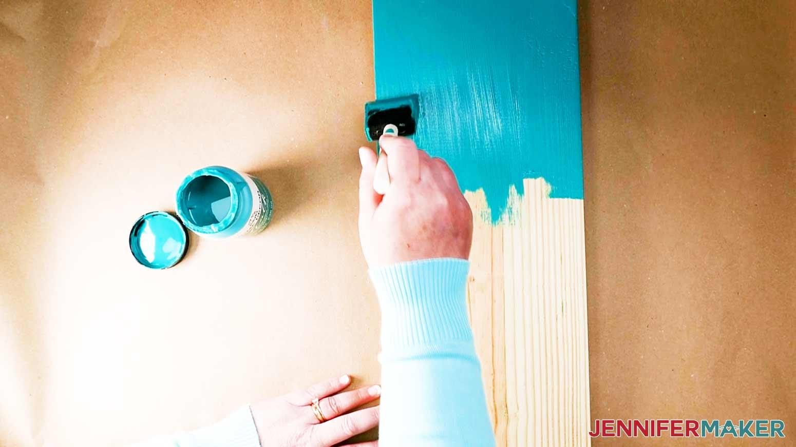 DIY Porch Signs painting board