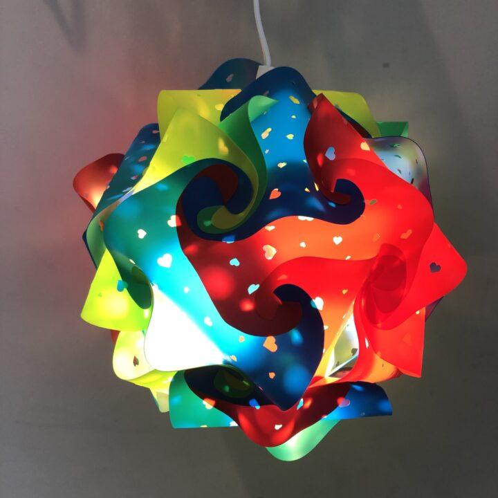 DIY Puzzle Lamp