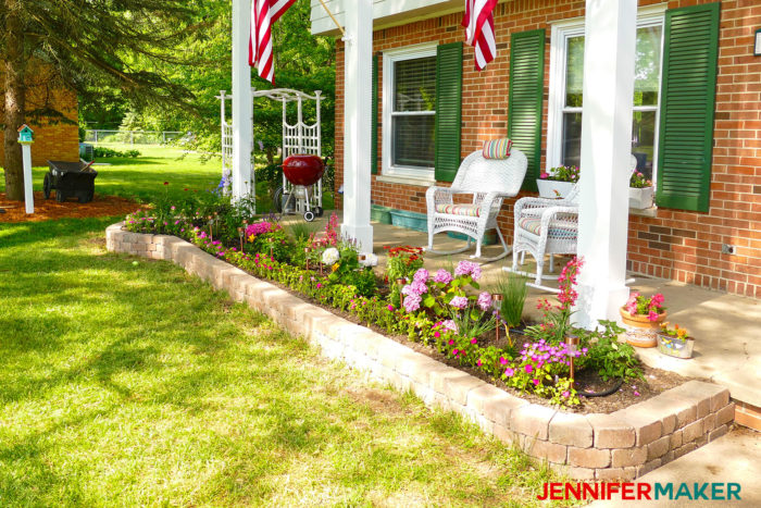 DIY Retaining Wall Construction for a Beautiful Garden - Jennifer Maker