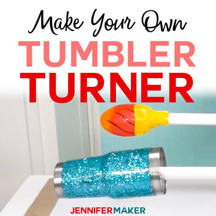 DIY Glitter Tumblers - Step-by-Step Photos & Video Tutorial