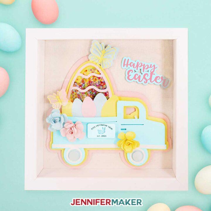Easter Truck Decor
