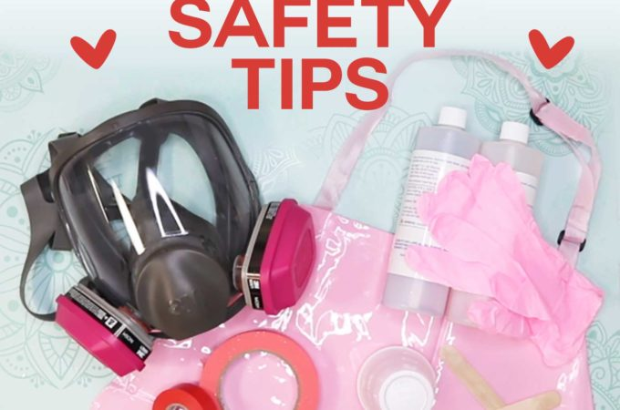 Epoxy Safety for Safe Tumbler Making: Tips, Supplies, Personal Protective Equipment #epoxy #tumblers #safety
