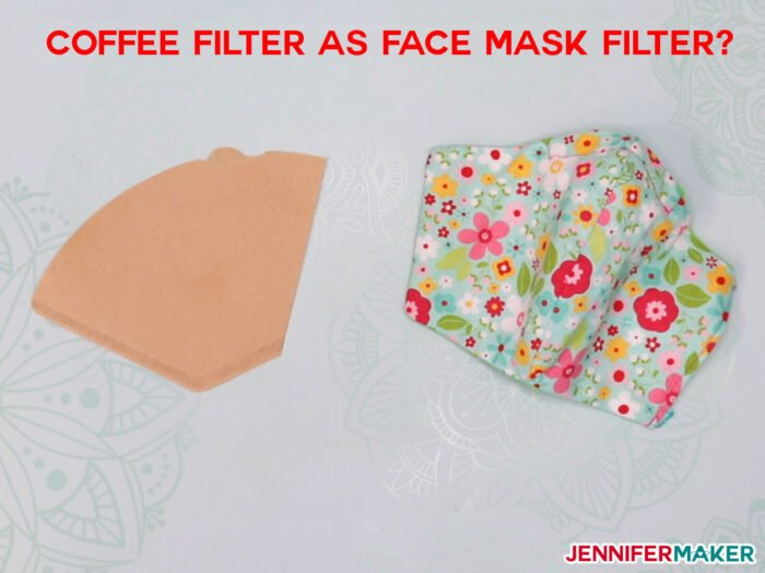 coffee filters as face masks? Are coffee filters effective?