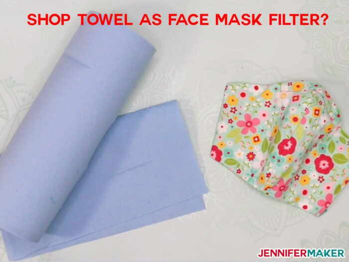 Blue Shop Towel as Face Mask Filter Material: What to Use, What to Avoid - Common Household Materials that may be used as a filter, along with research into effectiveness and breathability