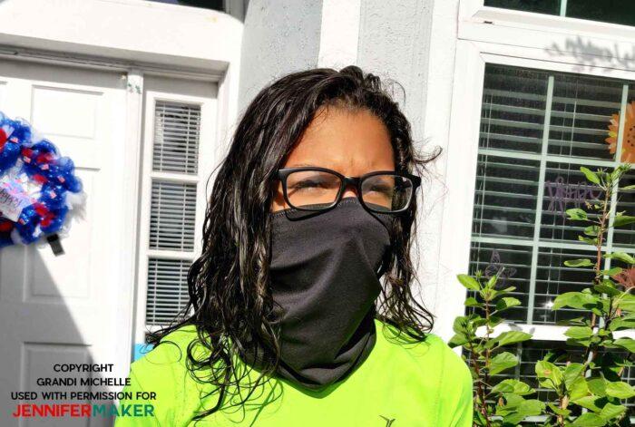gaiter face mask for children