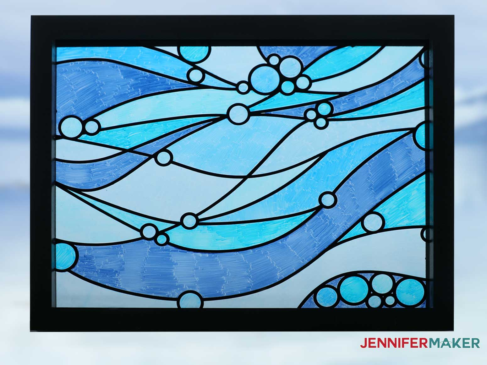 Faux Stained Glass by JenniferMaker