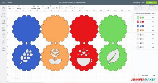 Upload the SVG file to Cricut Design Space