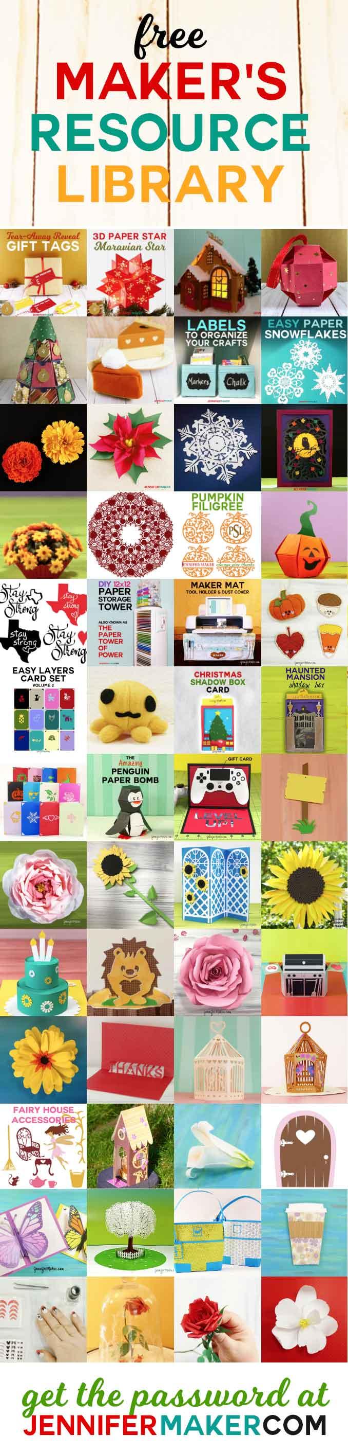 Download JenniferMaker DIY & Craft Printables Resource Library ...