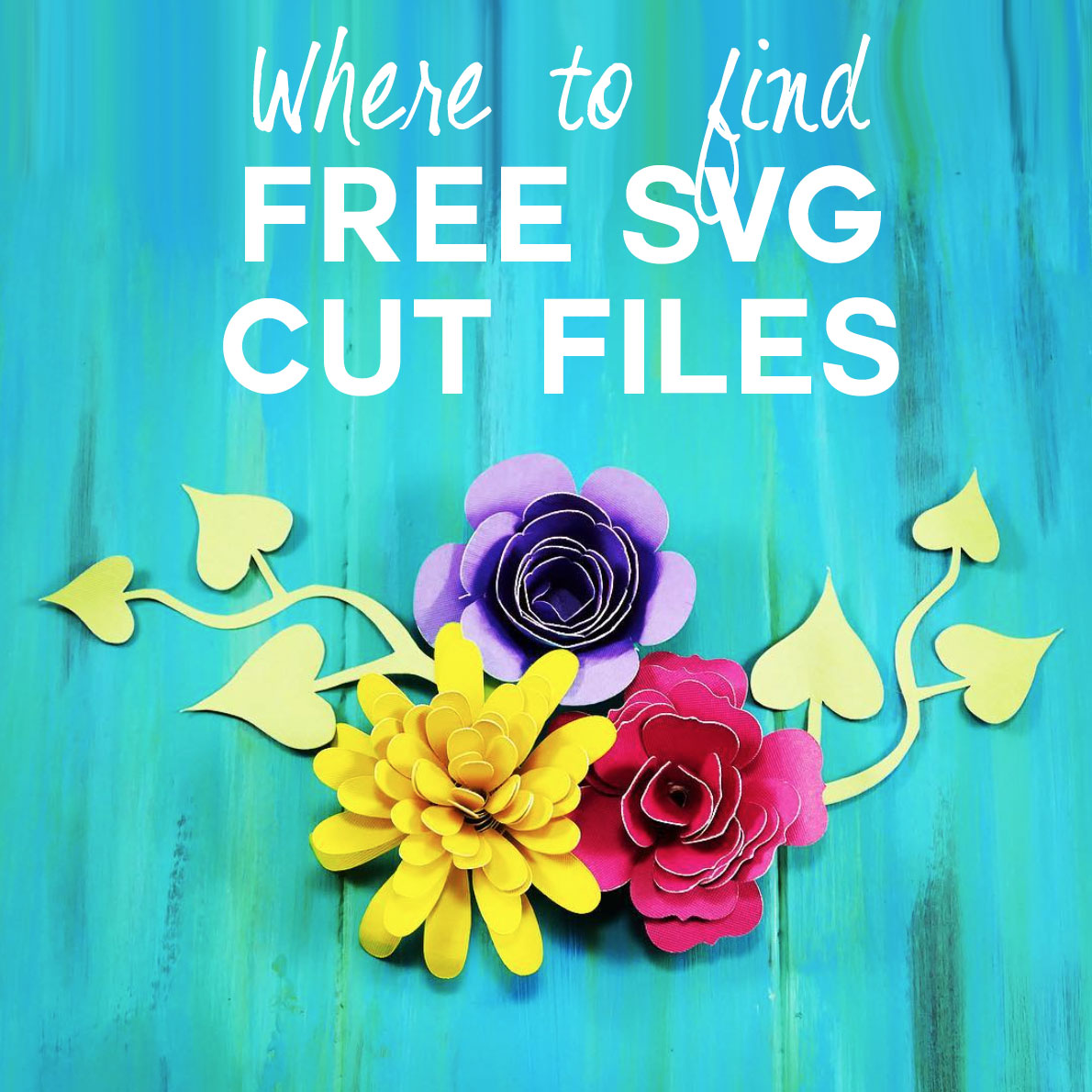 Free Svg Cut Files Where To Find The Best Designs