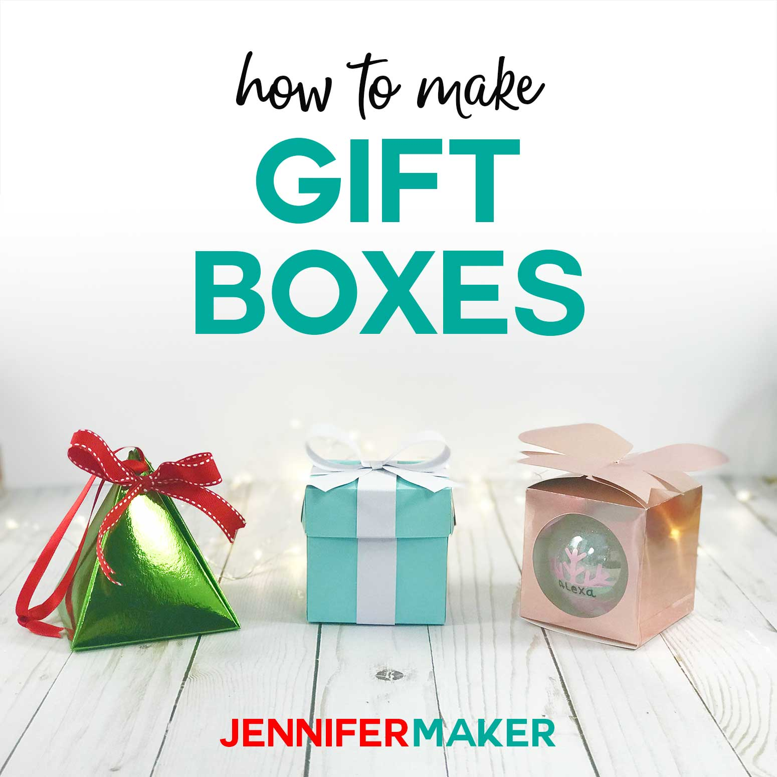 Gift Box Templates Perfect For Handmade Small Gifts Jennifer Maker
