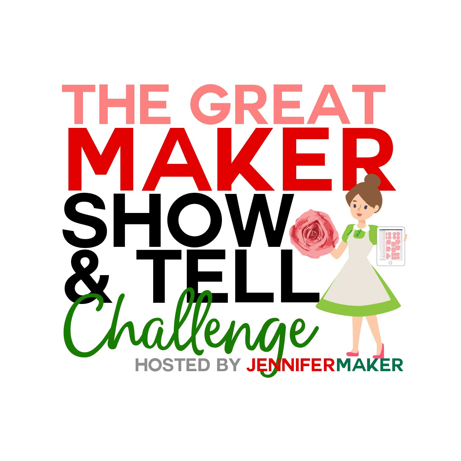 The Great Maker Show & Tell Challenge: Win a Cricut Maker & More