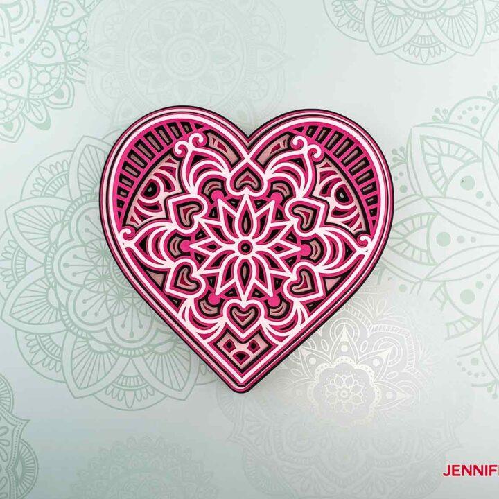 This is my heart mandala