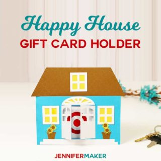 DIY Gift Card Holder for New Home Owners