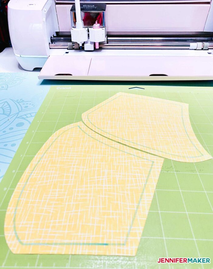 Cutting quilting cotton with Cricut Explore