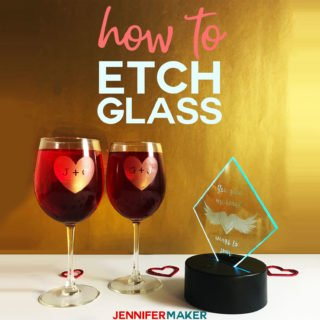 image relating to Free Printable Wine Glass Stencils identified as How towards Etch Gl the Basic Path! - Jennifer Producer