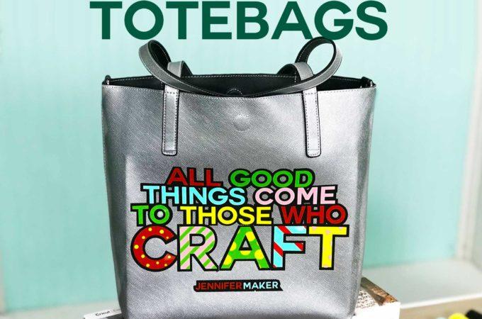 How to Layer Iron On Vinyl Totebags plus free cute bag designs #cricut #cricutmade #svgcutfile #htv #vinyl #cricutexplore