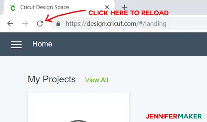 Reload Cricut Design Space in order to load your new fonts and use them!