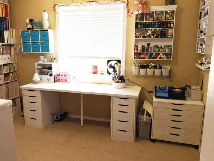 craft room desk ideas the best ikea craft room tables and desks ideas 4021