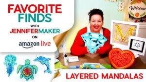 Layered Mandala Supplies and Tools
