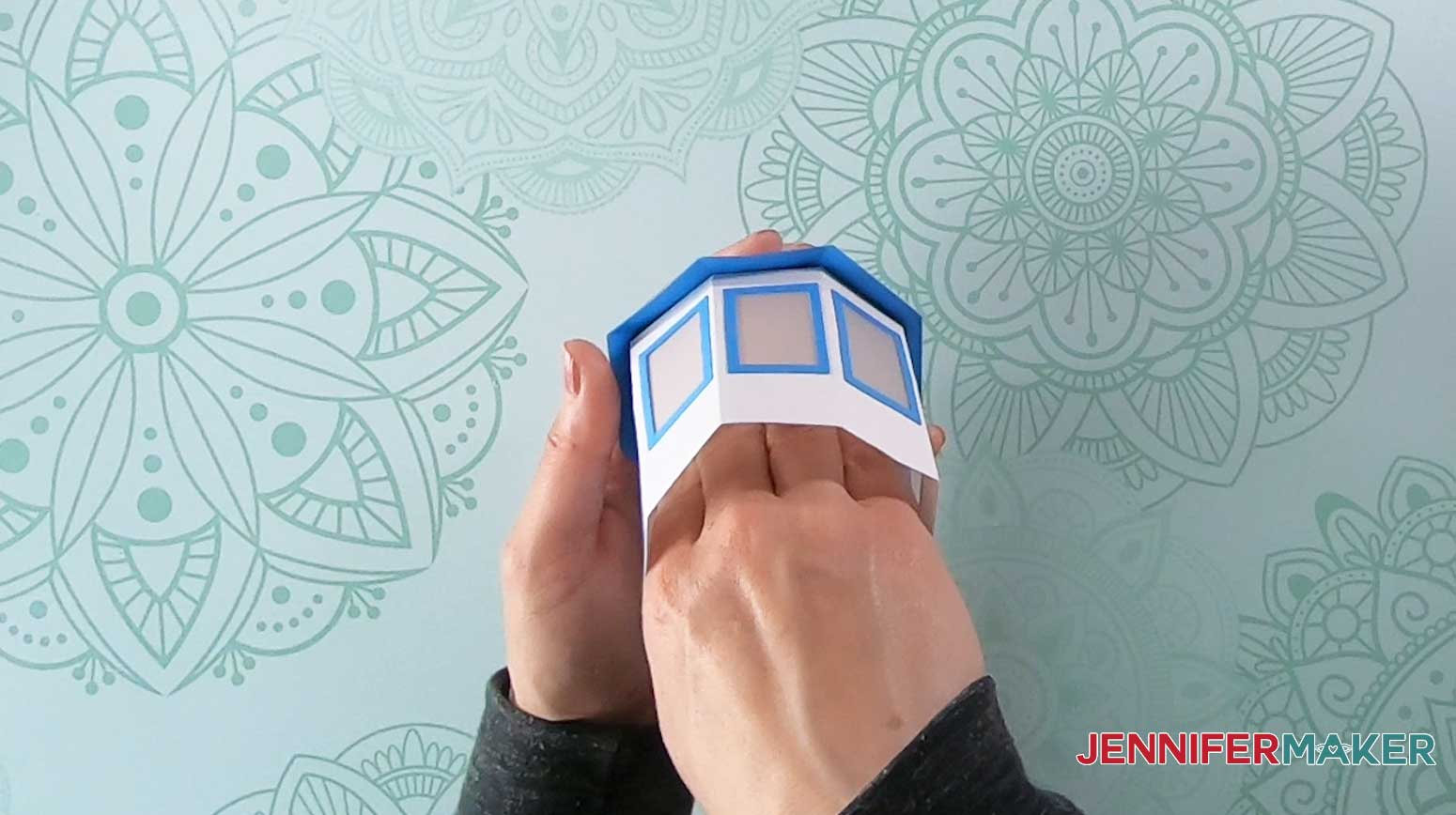 attach cupola windows to lighthouse luminary roof