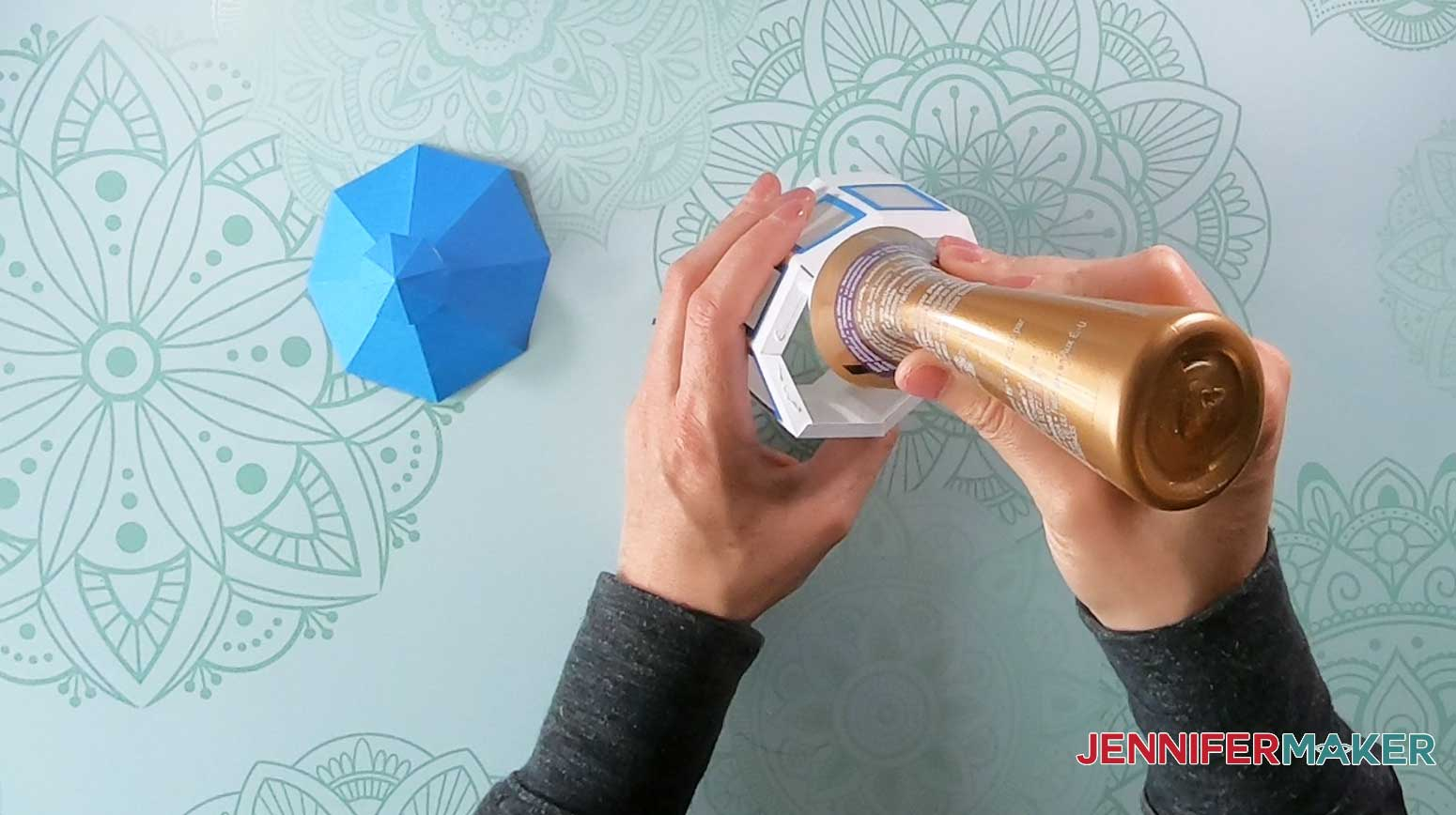 glue tabs of paper lighthouse luminary cupola windows