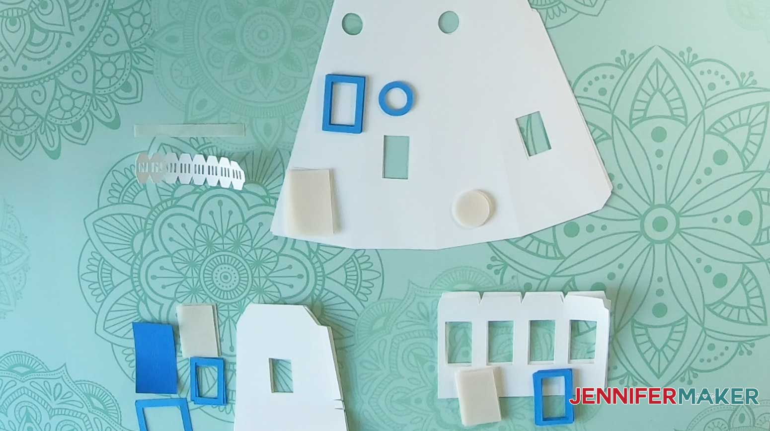 lighthouse luminary unassembled window sections