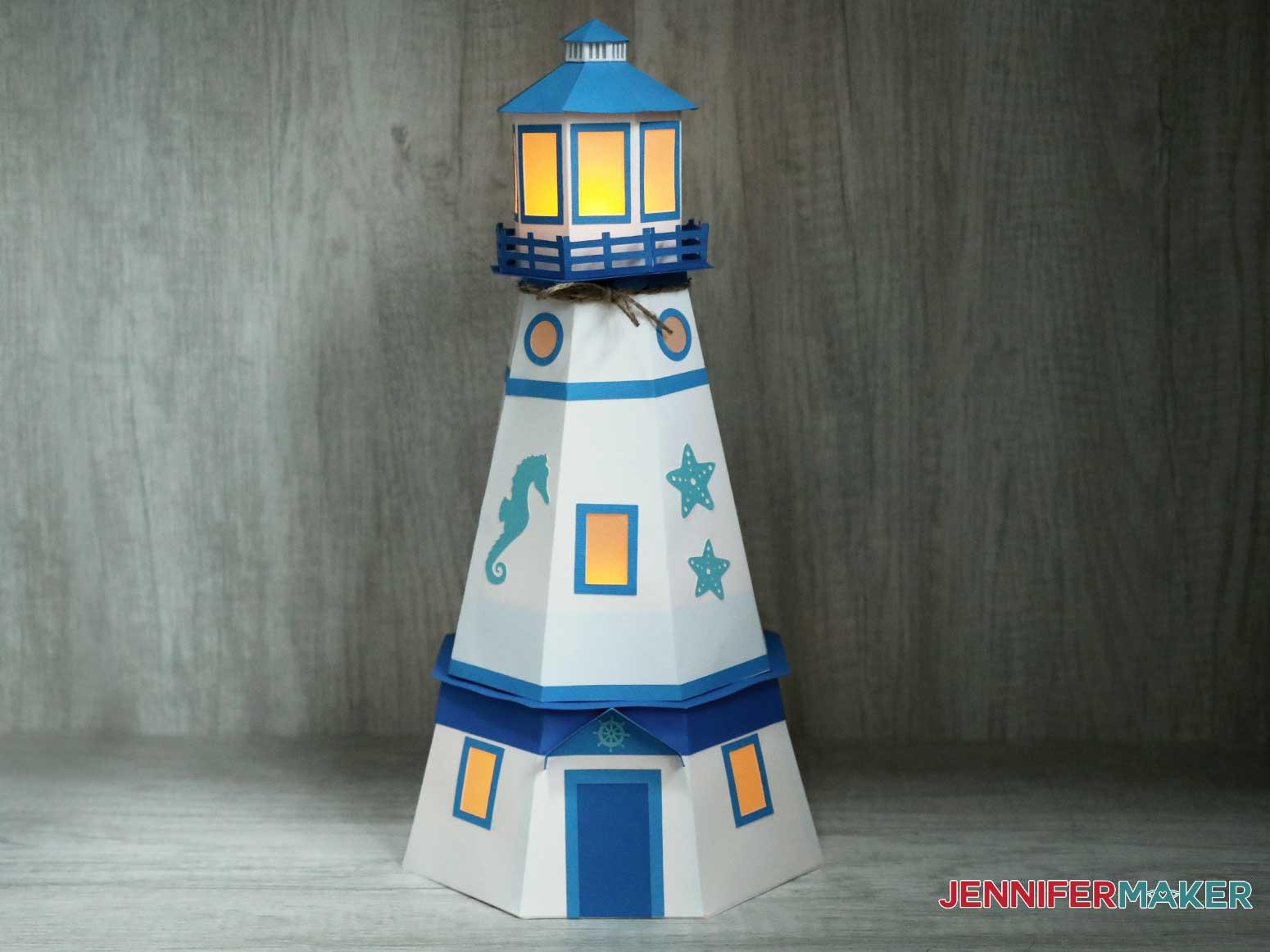 lighthouse luminary by jennifermaker