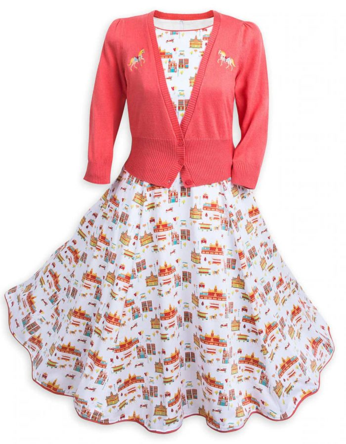 Disney Main Street USA Dress