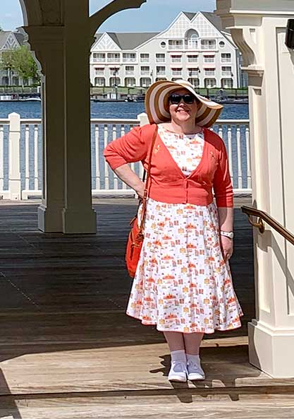 Disney Main Street USA Dress at Disney's BoardWalk Resort