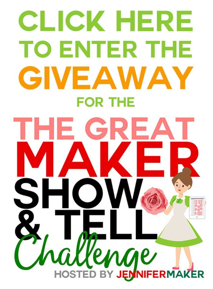 Enter the Great Maker Show and Tell Giveaway