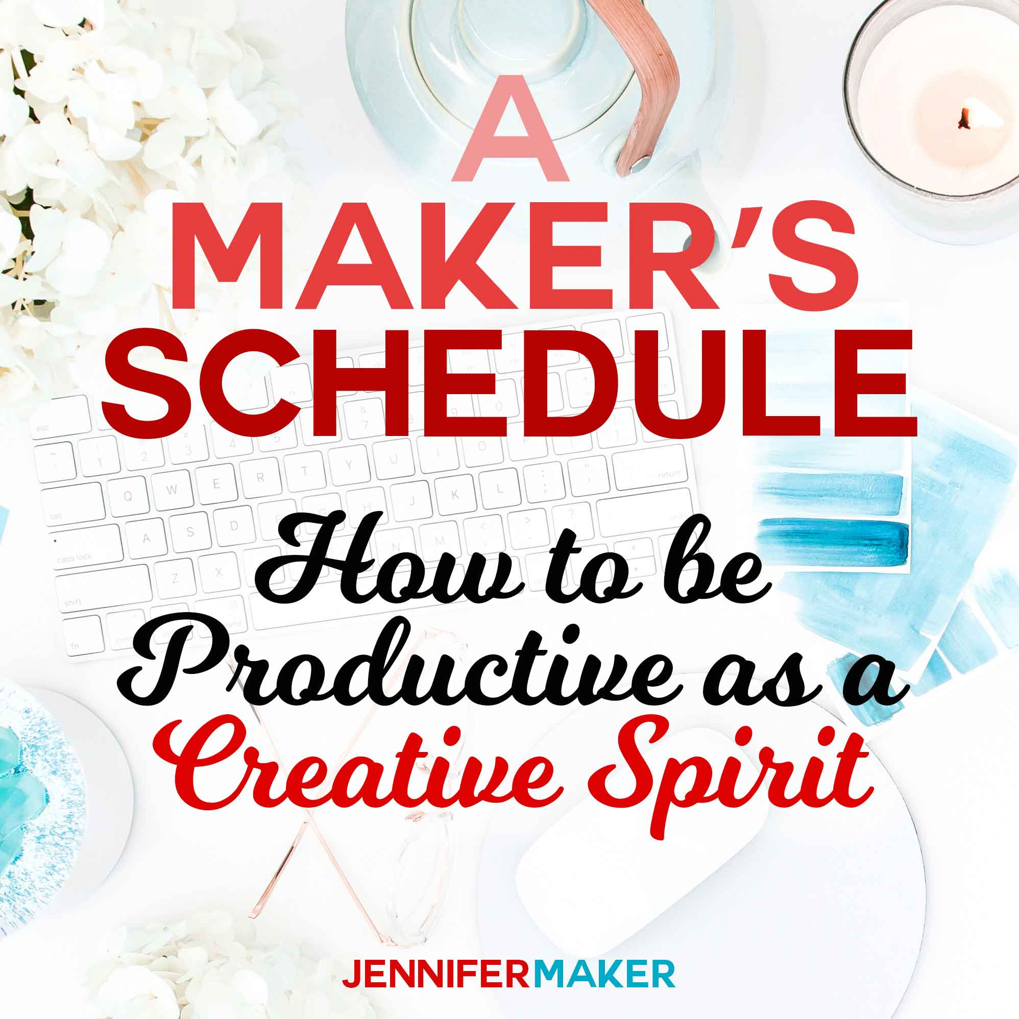 A Maker's Schedule: How to Be Productive as a Creative Spirit