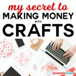 The Secret to Money Making Crafts -- Start a Craft Blog! #blogging